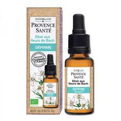 Elixir aux Fleurs de Bach Déprime Provence Santé