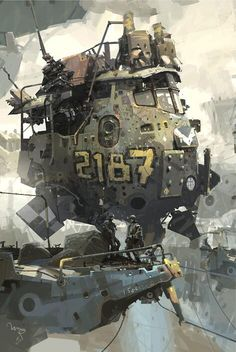 """Two-One-Eight-Seven"" by Ian McQue"
