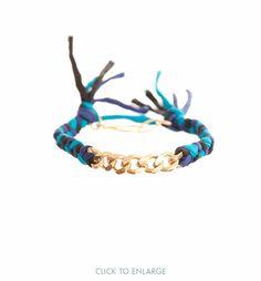 Silk Curb Bracelet