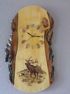 Elk Wood Clock …