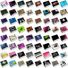 """Cute Sticker Skin Cover For 14"""" 15"""" 15.4"""" 15.5 15.6"""" Sony HP Dell Samsung Laptop"""