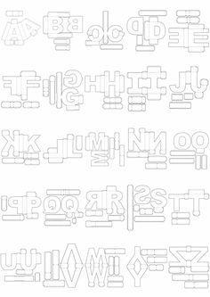 Oferta ! Letras 3d Corte Manual Formatos Png, Sgv, Pdf E Sillhouette por $ 4.39…