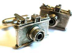 Classic Camera Cufflinks