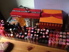My lipstick storage :)