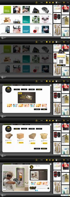Virtual Display #Ecommerce #TouchscreenTV #Website #Weblayout #Webdesign #Inspiration #Web #Layout