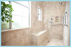 Age in Place / Universal Bathroom Designs and Bath Remodeling