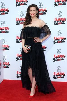 Hayley Atwell  at Three Empire Awards in London... - Daily Actress