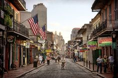 New Orleans - Bourbon Street - I would love to go back for a longer visit