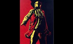 """The controversial artwork by South African artist Brett Murray depicting president Zuma's exposed privates, called """"The spear""""."""