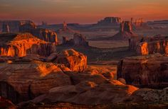 Monument Valley From Hunt's Mesa Photo by Don Jacobson -- National Geographic Your Shot