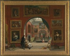 Alfred Joseph Woolmer (1805 - 1892) – Artist (British) Born in Chelsea. Dead in London. Details of artist on Google Art ProjectTitleInterior of the British Institution (Old Master Exhibition, Summer 1832)Object typePaintingDate1833Mediumoil on canvasDimensionsHeight: 718 mm (28.27 in). Width: 921 mm (36.26 in).Current location  Yale Center for British Art