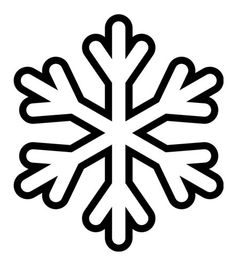 ... | Snowflake template, Snowflake pattern and Snowflake stencil