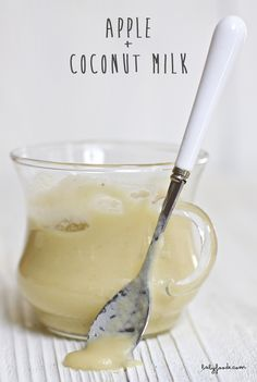 Apple + Coconut Milk — Baby FoodE | organic baby food recipes to inspire adventurous eating