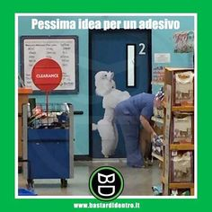 Pessima idea per un #adesivo - #bastardidentro (BD è anche su YouTube!) www.bastardidentro.it