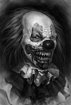 88 Tattoo, Dark Tattoo, Grey Tattoo, Dark Art Drawings, Art Drawings Sketches Simple, Tattoo Drawings, Evil Clown Tattoos, Creepy Tattoos, Chicano Tattoos Sleeve