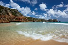 Paradise at Porthcurno Beach, Cornwall