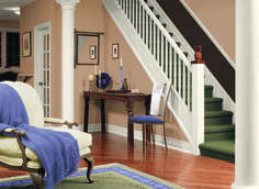 glidden brownington court wall color eggshell or satin finish