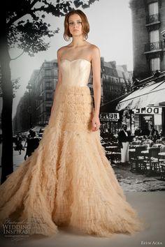 reem acra 2012 wedding dress