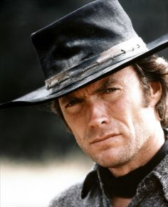 Clint Eastwood turns 84 today - he was born in Do you have one fav Clint movie? Guy or gal, I bet somewhere at sometime, Clint has made your day! This is Clint in 1973 in his film High Plains Drifter. Clint Eastwood Poster, Scott Eastwood, Hollywood Stars, Classic Hollywood, Old Hollywood, Action Movie Stars, Actrices Hollywood, Steve Mcqueen, Favorite Person