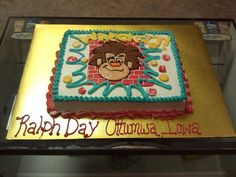 wreck it ralph cake | ... online news venues that reported on Wreck-It Ralph in Ottumwa, Iowa