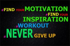 FIND YOUR MOTIVATION FIND YOUR,INSPIRATION ,WORKOUT ,NEVER GIVE UP Fabric Silk MOTIVATIONAL Poster Print For Great Gift(China (Mainland))