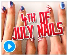 Get Ready For Independence Day With These 4th Of July Nail Art Ideas
