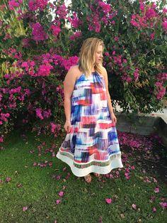 travel fashion; anthropologie maxi dress