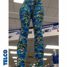 Floral leggings are a summer must-have! #women #juniors #summer #spring #leggings #floral