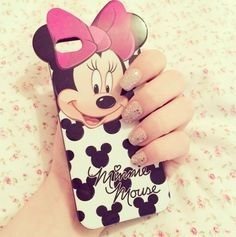 Minnie mouse case.. I need this! Xo