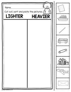 Measurement and Data Kindergarten Math Unit – FREEBIES — Keeping My Kiddo Busy - Handprint Kindergarten Measurement Kindergarten, Kindergarten Anchor Charts, Measurement Activities, Math Measurement, Kindergarten Math Worksheets, Preschool Math, In Kindergarten, Math Activities, Math Multiplication