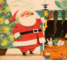 My Christmas Treasury: A Collection of Christmas Stories, Poems, and Songs - pictures by Lowell Hess (1957).