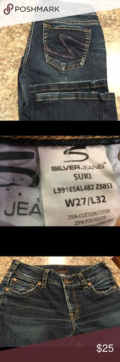 Great Pair of Silver Jeans Great pair of Silver jeans 27x32. Silver Jeans Jeans Straight Leg