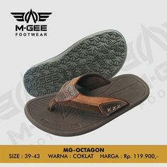 M-GEE Footwear MG-OCTAGON Brown