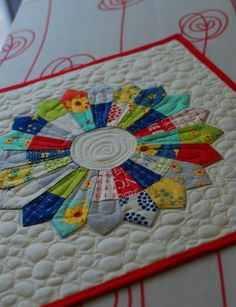 Pat Sloan new Aurifil thread kit with mini charm pack and this cute little Candy Dish quilt pattern.