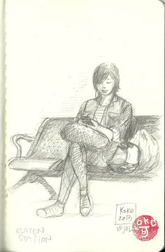 a girl in waiting Waiting, Sketches, Drawings, Art, Art Background, Kunst, Gcse Art, Doodles, Drawing
