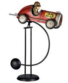 Balancing toy race car