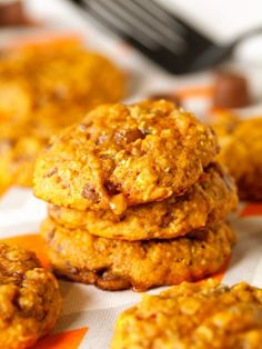 25 Incredible Pumpkin Cookie Recipes To Try This Fall - We've rounded up a HUGE list of the BEST pumpkin cookies of the season!