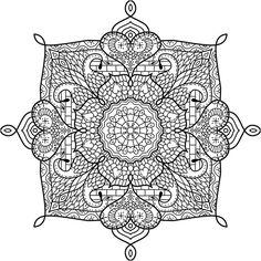 "This is ""Castle Garden"", a coloring page for you to print, color, and share. :) #mandala #free https://mondaymandala.com/m/castle-garden?utm_campaign=ssendible-pinterest&utm_medium=social&utm_source=pinterest&utm_content=castle-garden"