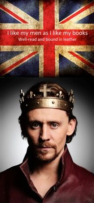 Tom Hiddleton Henry V  ~~~(you're welcome, Mallory)   :)