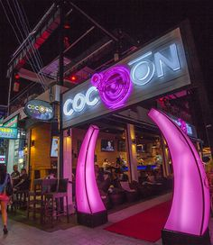 Cocoon Phuket is the hot new lounge bar and nightclub on Bangla Road in Patong, Phuket, Thailand.