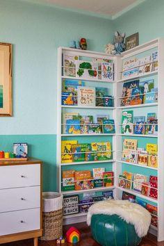 Nursery Corner Bookshelf.