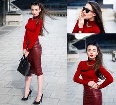 Mirella S. - Paint it red!
