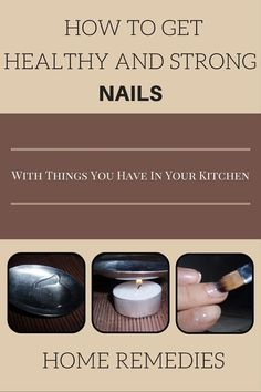 Effective Solutions for Healthy and Beautiful Nails at Home