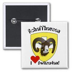 Schaffhausen Schweiz Button