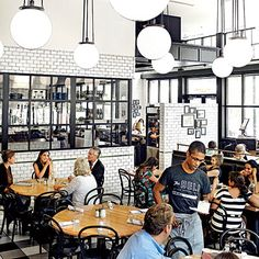 Atlanta Restaurants: The General Muir   An updated take on a Jewish deli, The General Muir shines brightest at breakfast and lunch, when the sun-dappled room feels coziest.
