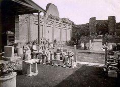 Temple of Vespasian - AD79eruption