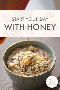 Start your mornings energised with our gluten-free almond and honey oatmeal bowl. Perfect for those mornings you need a little pick-me-up, this power bowl is filling and nutritious. Quick and easy to make using pantry staples! Find the recipe on our website, and sign up to the newsletter to receive 20% off your first purchase. #luxuryhoney #jarrahhoney #redgumhoney #recipes #nectahive #antimicrobialhoney Gluten Free Porridge, Australian Honey, Power Bowl, Best Honey, Did You Eat, Intuitive Eating, Mindful Eating, Breakfast Bowls, Nut Butter