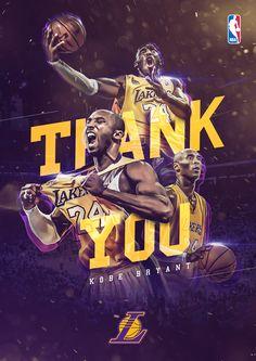 Thank You, Kobe! on Behance