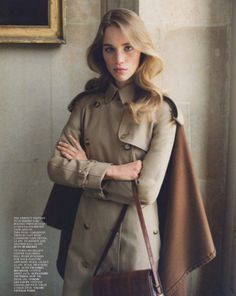 C'est Chic — Keep it Chic Silk Midi Dress, Midi Skirt, Roll Neck Jumpers, Vogue Uk, Shearling Coat, Classic Chic, Polished Look, Double Breasted, Color Pop