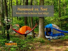 Most people have grown up camping in tents. In fact, the image of a tent is so synonymous with camping, many backpackers and wilderness trekkers consider a tent as an essential part of their camping gear. But what if there were other possibilities, like a hammock? Sure, the hammock may seem like a complete reversal …